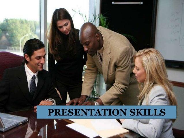 The presentation skills