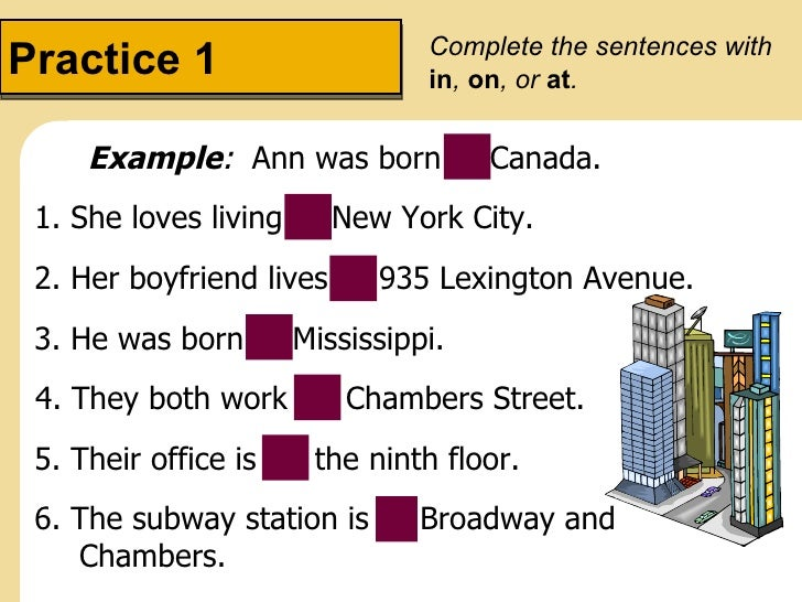 The present of be questions with where prepositions of place for Sentence of floor