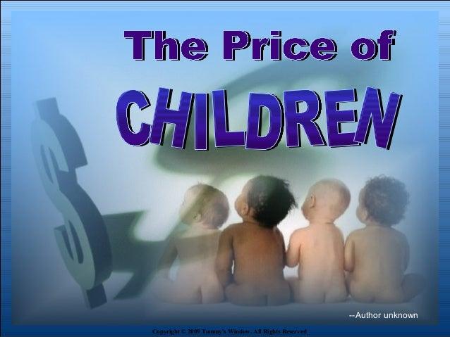 Price of children