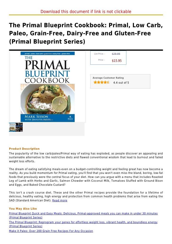 primal blueprint cookbook pdf free