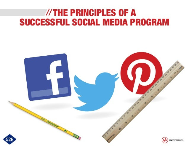 The Principles of a Successful Social Media Program