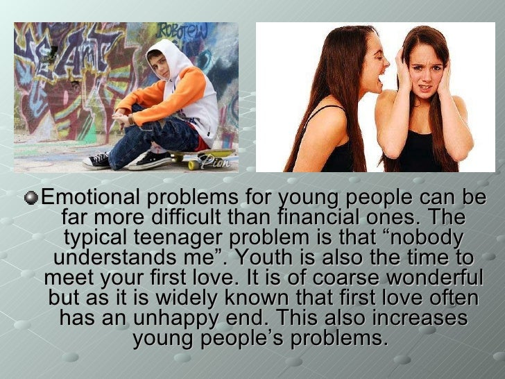 Problems that teenagers face today essay