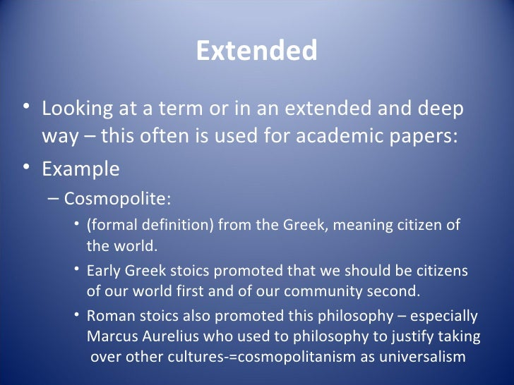 good extended essay Introducing the requirements of the extended essay -- part of the international baccalaureate®diploma programme.