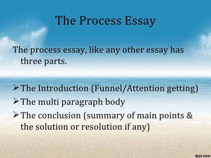 parts to an essay