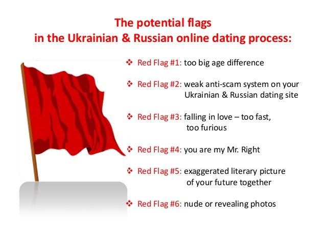 Red flag dating