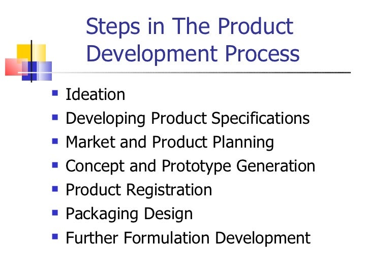 The new product development process for cosmetics for Product development firms