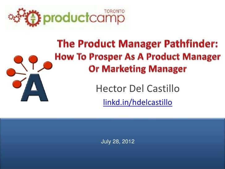 Hector Del Castillo                linkd.in/hdelcastillo                July 28, 2012© AIPMM 2012