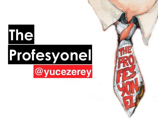 @yucezerey Profesyonel The