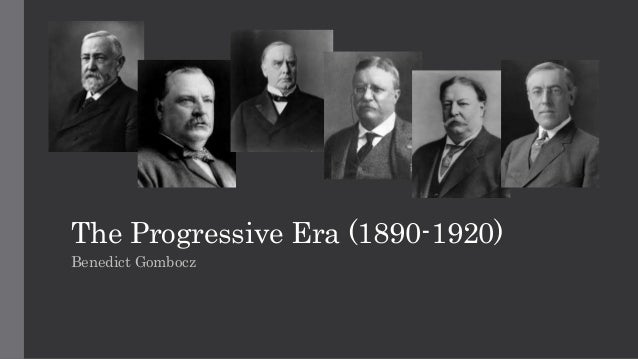 the progressives and topics for reform