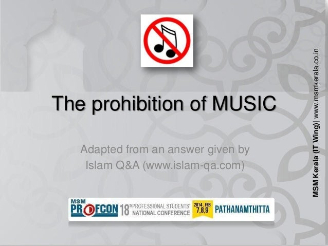 Adapted from an answer given by Islam Q&A (www.islam-qa.com)  MSM Kerala (IT Wing)| www.msmkerala.co.in  The prohibition o...