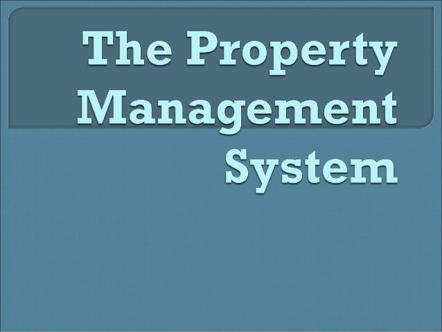 Property Management System (PMS) – Computer systems that mange a variety of task. *A hotel PMS manages a guest's check-in ...