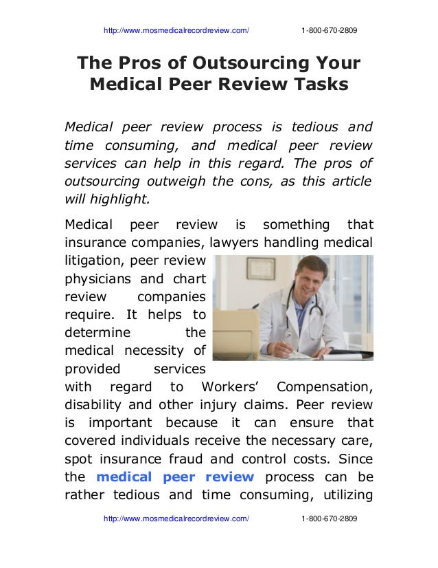 http://www.mosmedicalrecordreview.com/18006702809 The Pros of Outsourcing You...