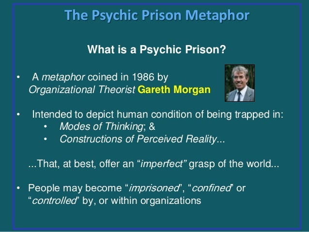 an analysis of morgans metaphors and motivation Morgan s metaphors goal: create a case study analysis based on two scholarly studies that utilize metaphors (morgan s, or similar) to describe the functionality of organizations after a concise, but thorough, analyses of the cases, summarize the benefits of using metaphorical devices in management practice.