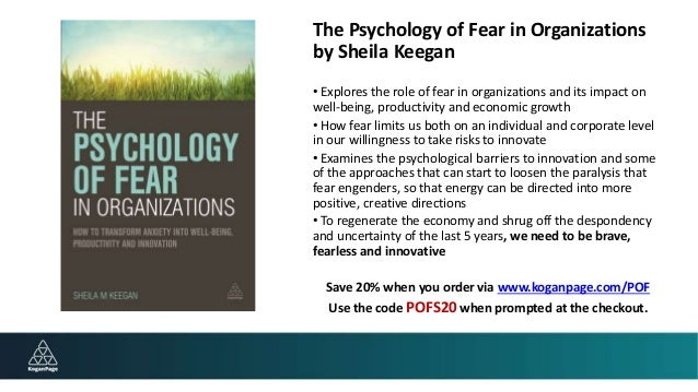 psychology the fear of ambiguity Ambiguity aversion appears to have subtle psychological causes curley, yates, and abrams found that the fear of negative evaluation by others (fne) increases ambiguity aversion this paper introduces a design in which preferences can be private information of individuals, so that fne can be avoided.