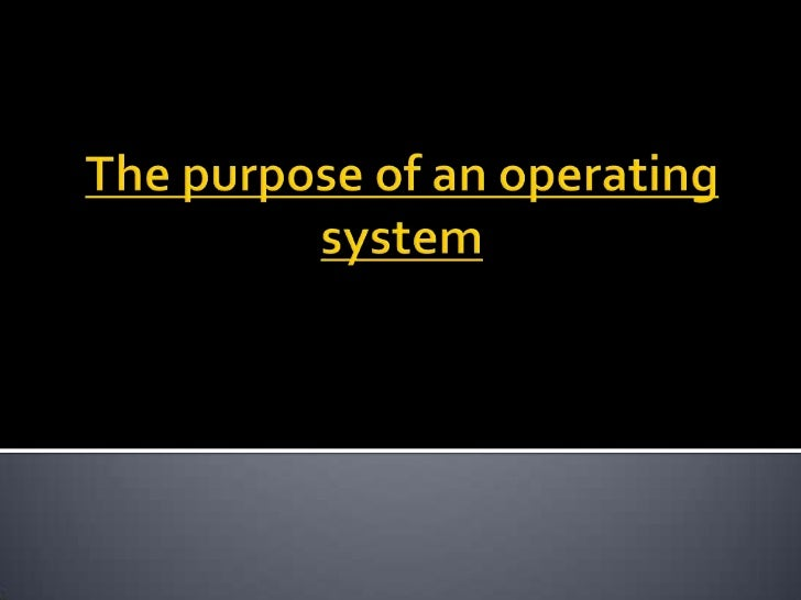 An operating system or OS is a series ofprogrammes what manage the computershardware resources. Also it provides servicesf...