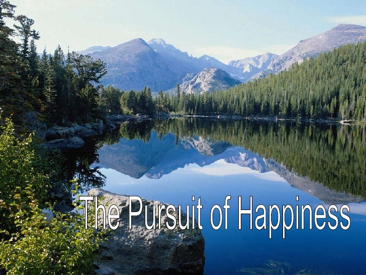 The pursuit of happiness 3