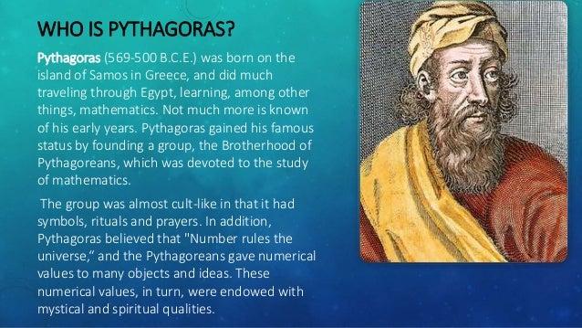a biography of pythagoras an ancient greek mathematician