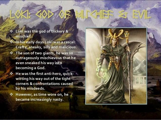 Loki God of Mischief Symbol Loki God of Mischief Evil