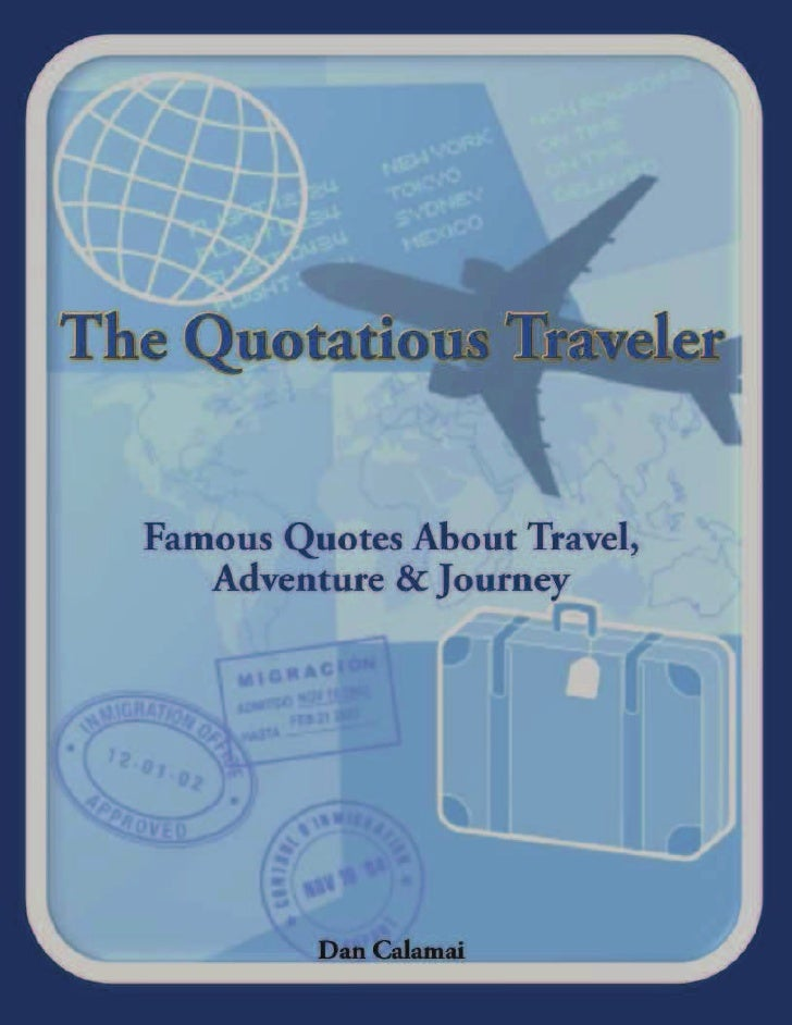 The Quotatious Traveler Excerpts