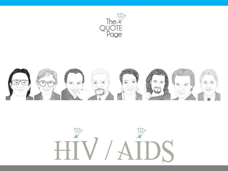 The Quote Page - HIV AIDS