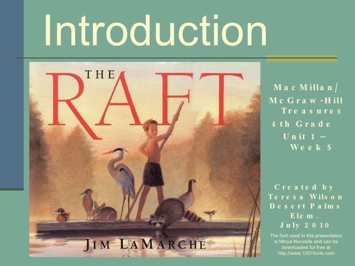 The raft introduction share