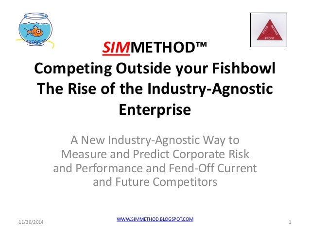 SIMMETHOD™ Competing Outside your Fishbowl The Rise of the Industry-Agnostic Enterprise  A New Industry-Agnostic Way to Me...