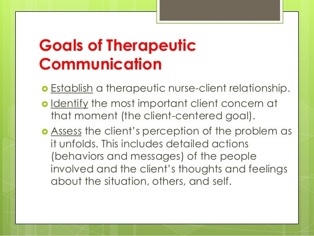 establishing rapport during therapeutic relationship In a therapeutic relationship establishing rapport may be accomplished by begins during the first interaction with the.