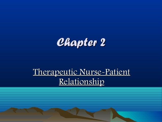 nurse patient relationship ukiah
