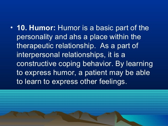 nurse and patient therapeutic relationship