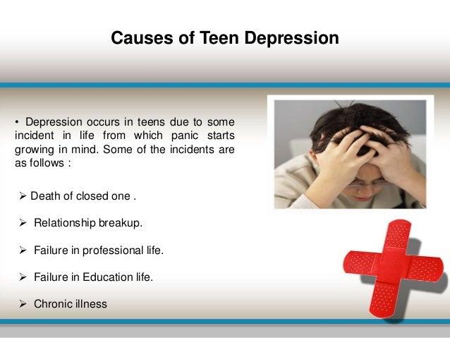 Causes teenage depression essay