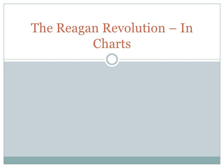 The Reagan Revolution – In Charts<br />