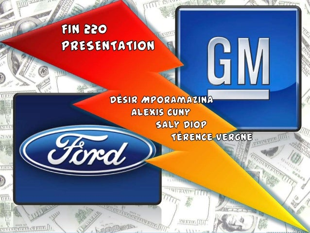 (CEFAM) FIN220 - GM/Ford