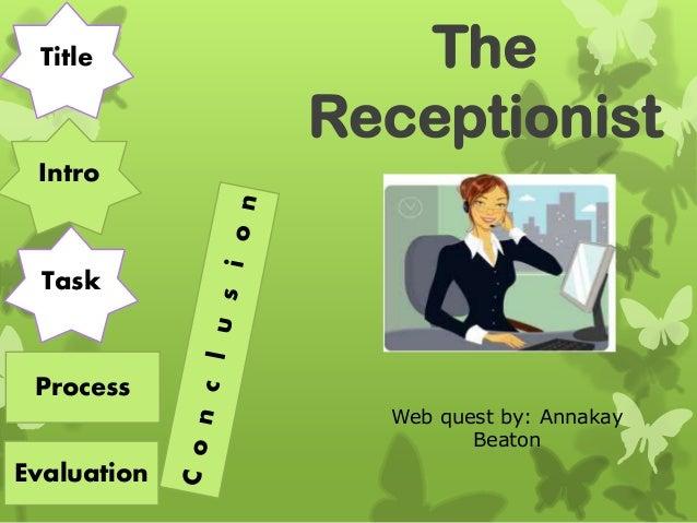 medical receptionist job duties