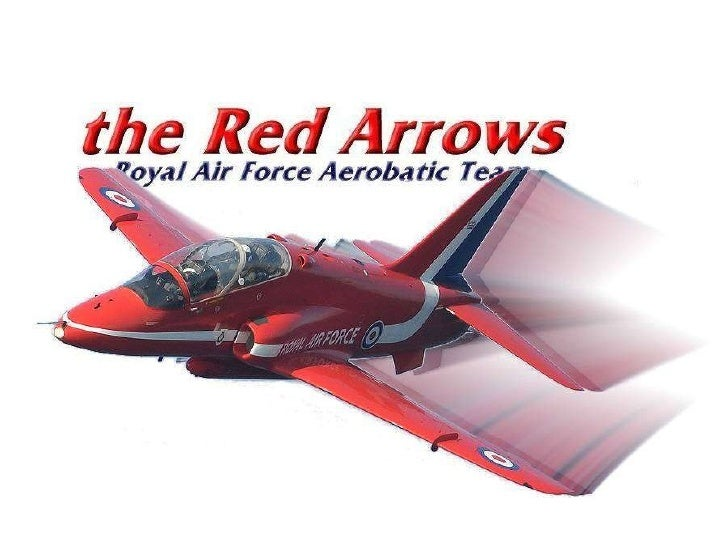 The Red Arrows - Royal Airforce