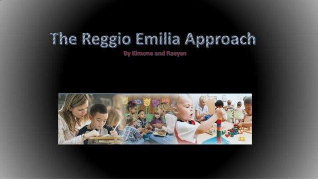 the reggio emilia approach essay
