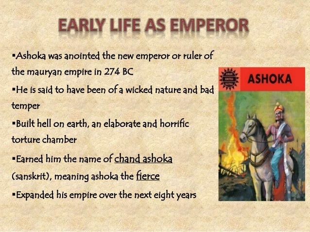 The reign of ashoka