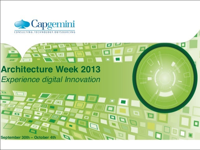 There is no business like social business #archiweek13