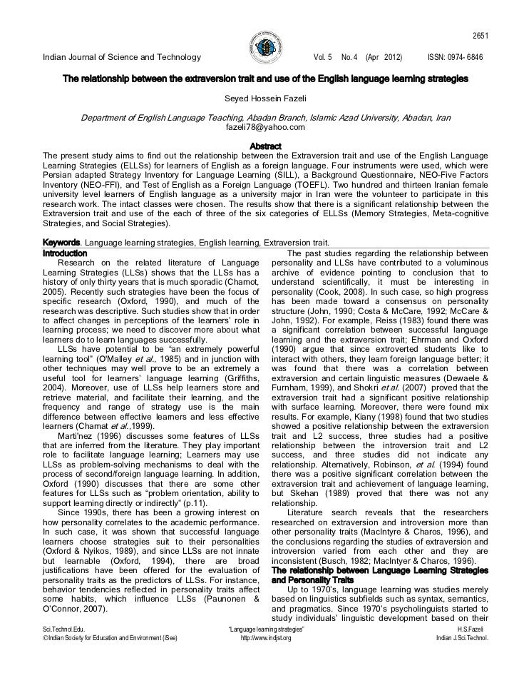 2651Indian Journal of Science and Technology                                                Vol. 5   No. 4 (Apr 2012)   IS...