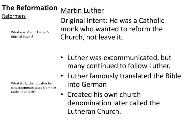 compare and contrast martin luther and john calvin essay Compare and contrast martin luther and john calvin essays martin luther and john calvin were both very important leaders of the protestant reformation although they.