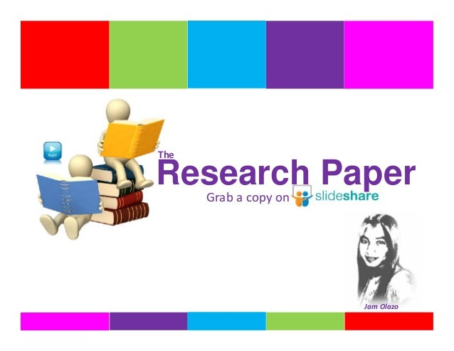 I've to write a research paper on one of the following topics:?
