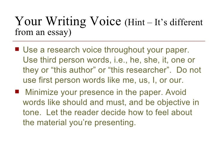 How To Write A Research Paper In Third Person - image 11