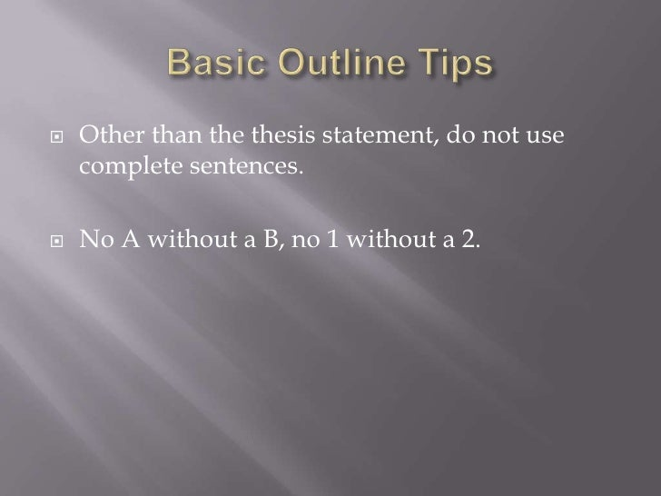 Thesis-Statement.Com