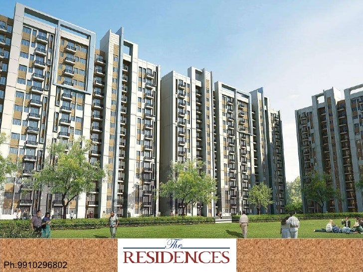 The residences noida sales ppt