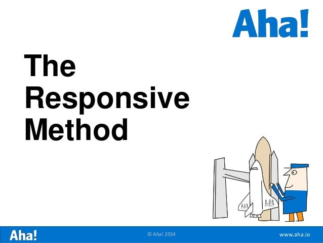 www.aha.io© Aha! 2014 The Responsive Method