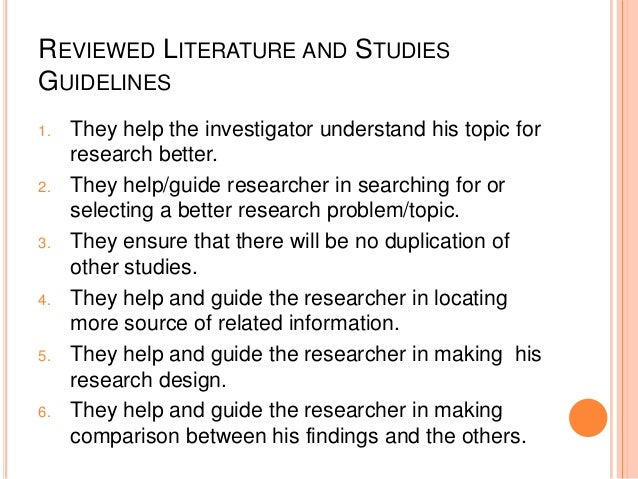 Search strategy literature review