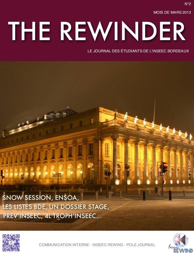 The rewinder fin mars 2013