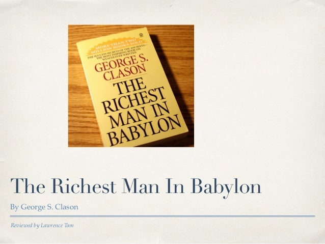 The Richest Man in Babylon Review