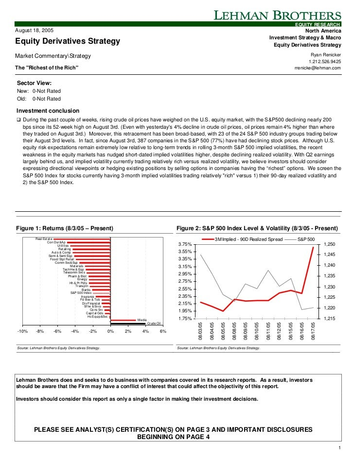 EQUITY RESEARCHAugust 18, 2005                                                                                            ...