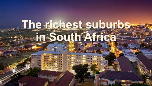 Wealth in South Africa • According to a WealthInsight report, South Africa has the highest number of millionaires in Afric...