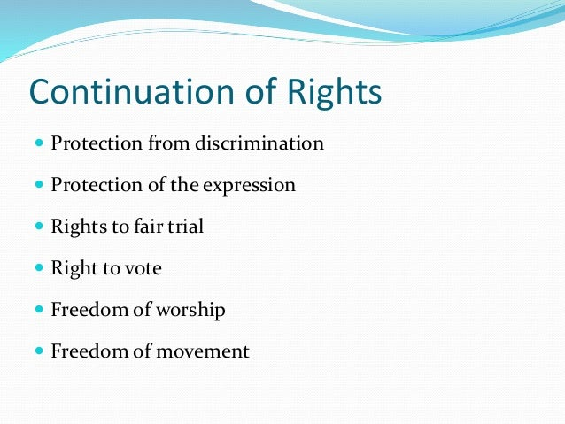 protected from discrimination essay Title vii and promotion discrimination protection specifically, title vii prohibits discrimination in hiring, promotions, terminations, discharge, benefits.
